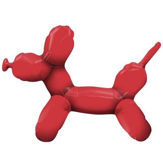 Balon foliowy Modelinowy Piesek czerwony Qualatex 14 SHP