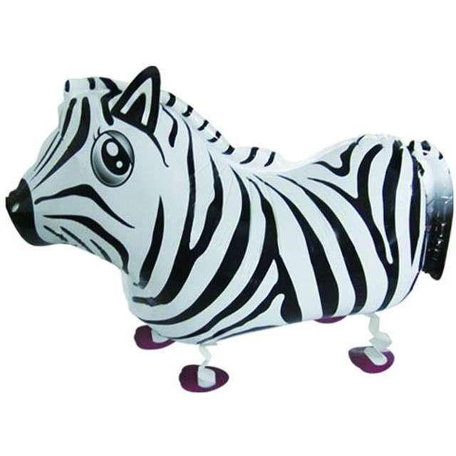 """Balon foliowy """"Zebra"""", Top Ten, 25"""" AWK"""