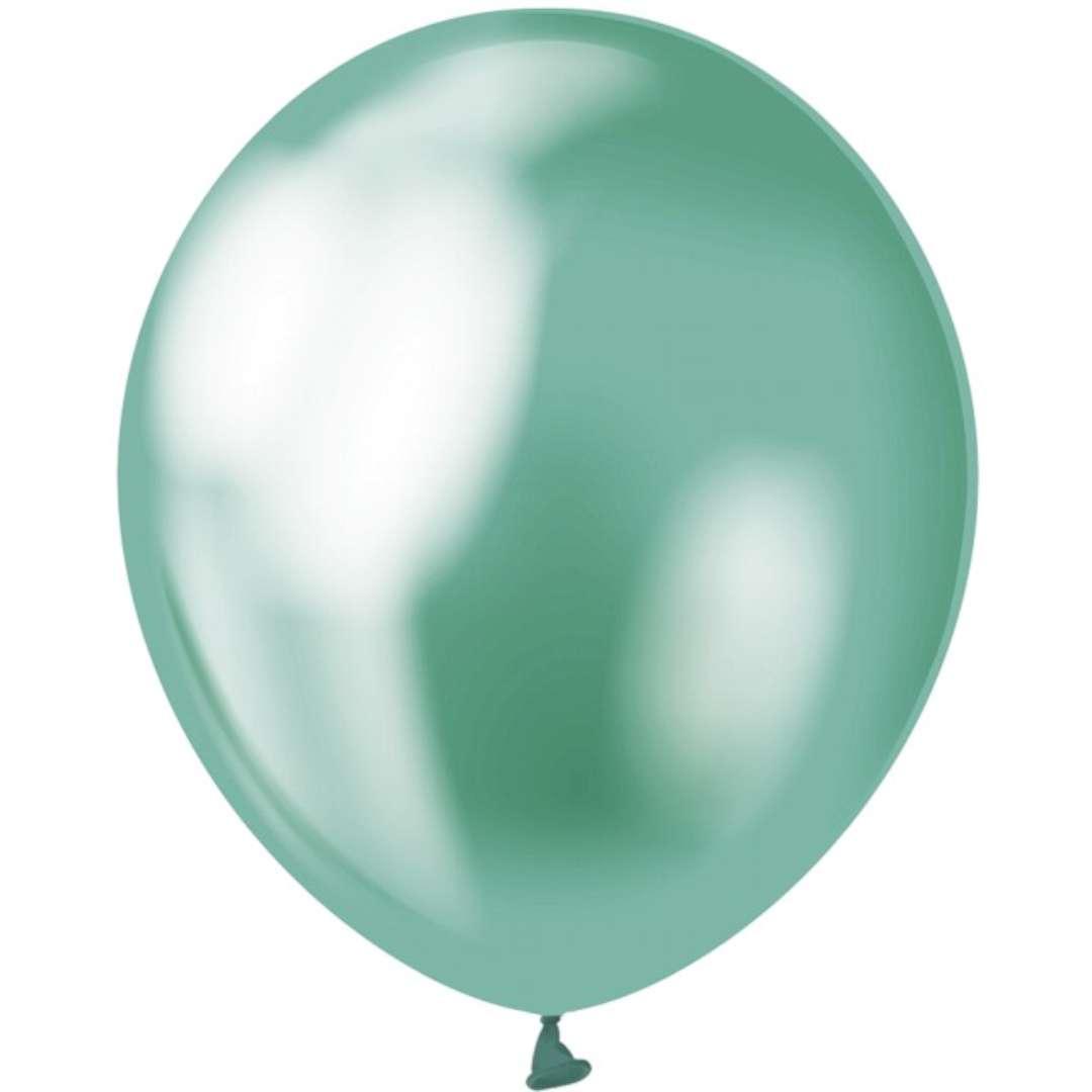 """Balony """"Beauty and Charm"""", zielony platynowy, GODAN, 12"""", 50 szt."""