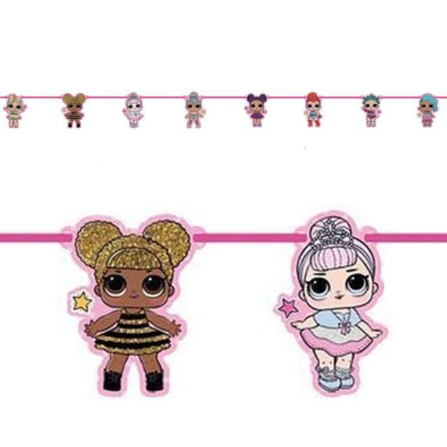 "Baner ""LOL Surprise - figurki"", PROCOS, 160 cm"