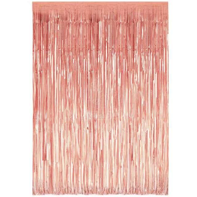 """Kurtyna na drzwi """"Classic"""", różowe złoto, Godan, 240 x 90 cm"""
