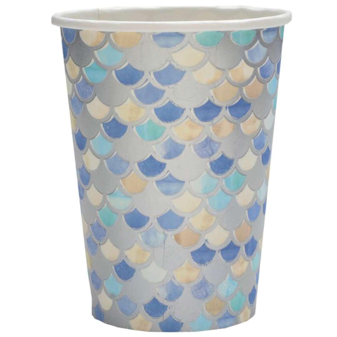 """Kubeczki papierowe """"Morskie powietrze - Sea Air"""", Santex, 250 ml, 10 szt"""