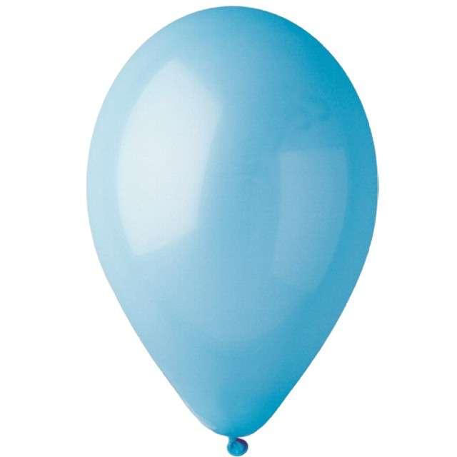 "Balony ""Pastelowe"", błękitne, Gemar, 13"", 50 szt"