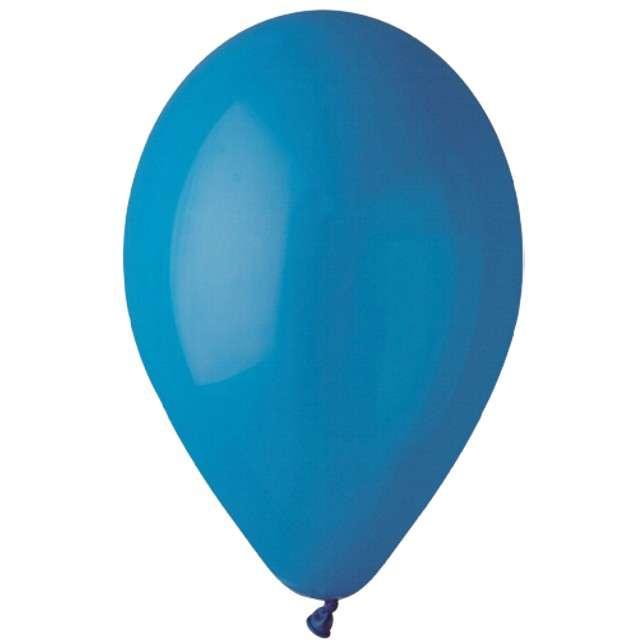 """Balony """"Pastelowe"""", niebieskie, Gemar, 13"""", 50 szt"""