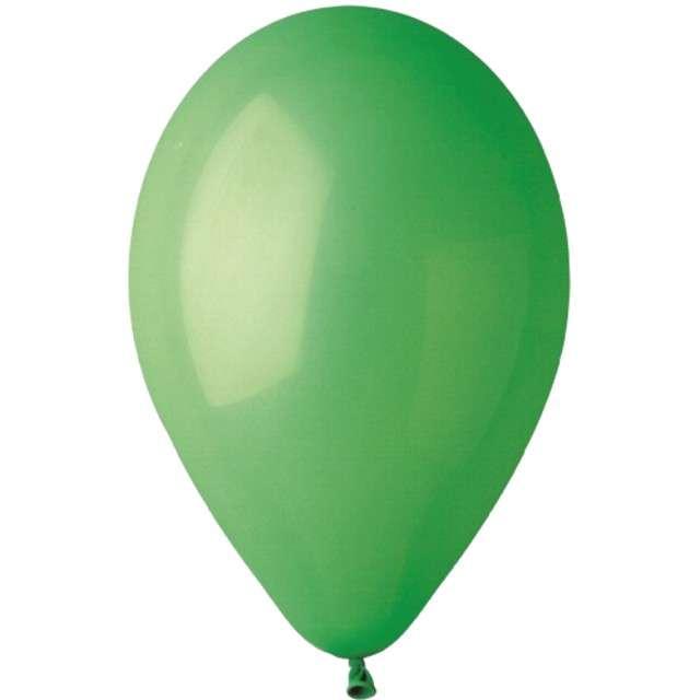 "Balony ""Pastelowe"", zielone, Gemar, 13"", 50 szt"
