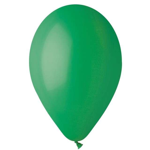 """Balony """"Pastelowe"""", zielone ciemne, Gemar, 13"""", 50 szt"""