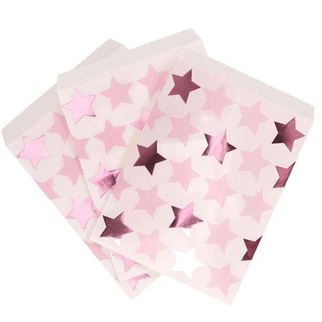 "Torebki papierowe ""Little Star""  Godan, różowe, 25 szt"