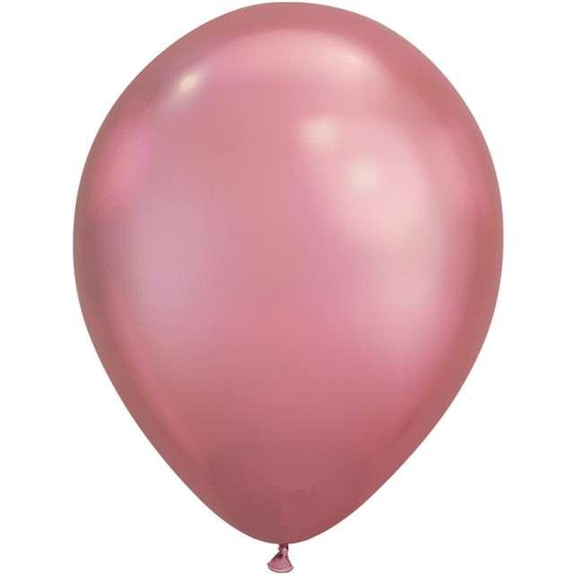 Balon Chrom różowo-fioletowy QUALATEX 7 100szt.