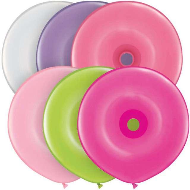 Balony Donat mix Qualatex 16 50szt.
