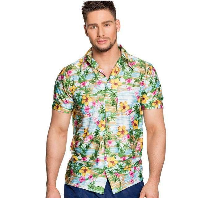 """Strój dla dorosłych """"Koszula Hawajski Raj"""", BOLAND, rozm. L"""