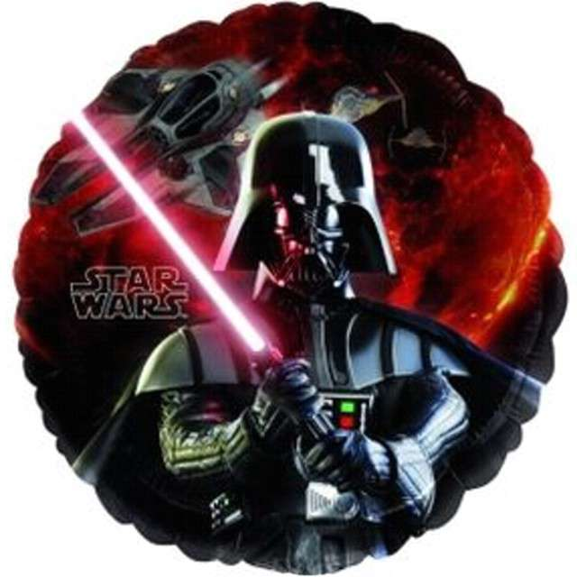 "Balon foliowy ""Star Wars - Gwiezdne Wojny"", AMSCAN, 18"" RND"