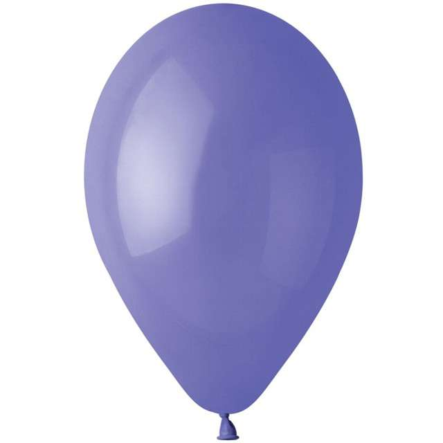 "Balony ""Pastel"", fioletowy, Gemar, 12"", 100 szt"