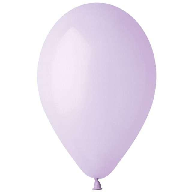 """Balony """"Pastel"""", liliowe, Gemar, 12"""", 100 szt"""
