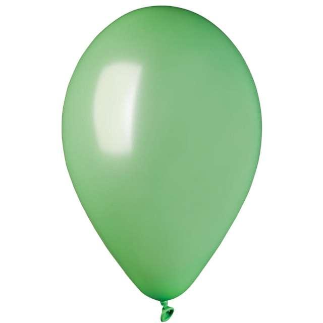 """Balony """"Classic"""", miętowy metalik, GEMAR, 10"""", 100 szt"""