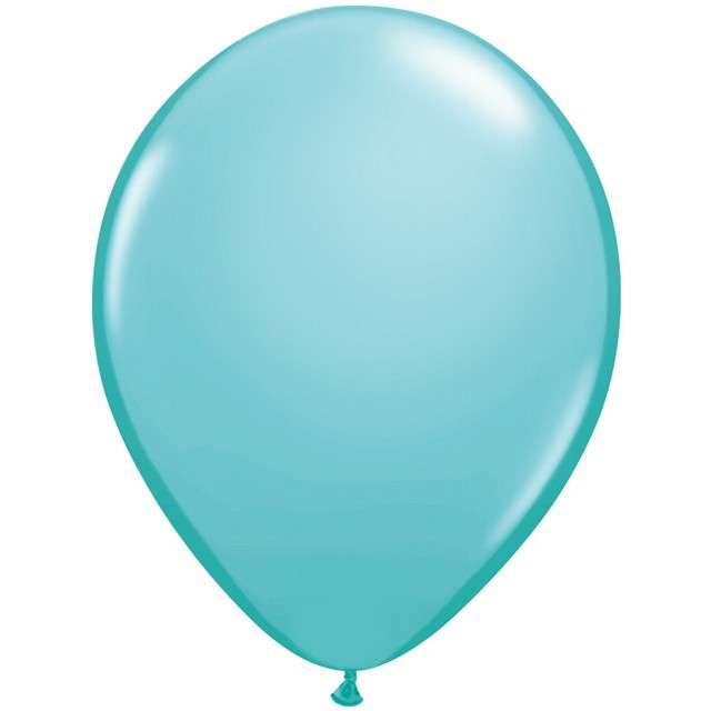 Balony Classic turkusowo-niebieskie Qualatex 16 50szt.