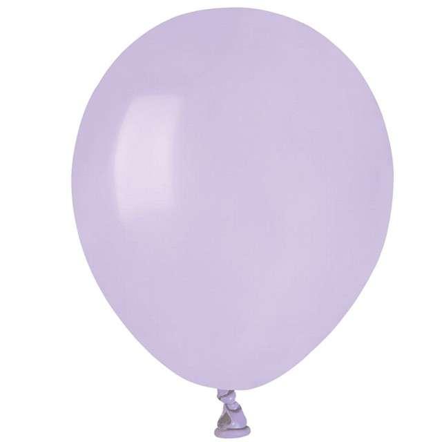"""Balony """"Pastel"""", liliowe, GEMAR, 5"""", 100 szt"""