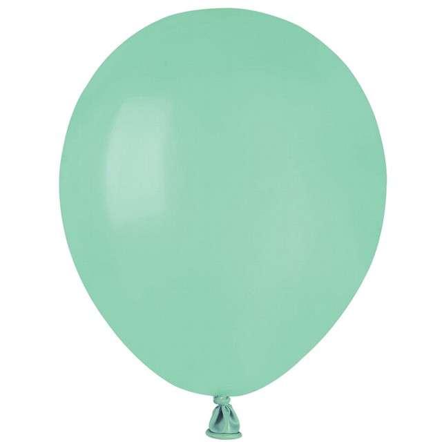"""Balony """"Pastel"""", miętowe, GEMAR, 5"""", 100 szt"""