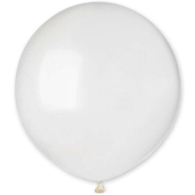 """Balony """"Krystaliczne"""", transparentne, Gemar, 19"""", 50 szt"""