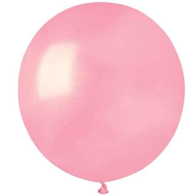 """Balony """"Pastelowe"""", różowy jasny, Gemar, 19"""", 50 szt"""