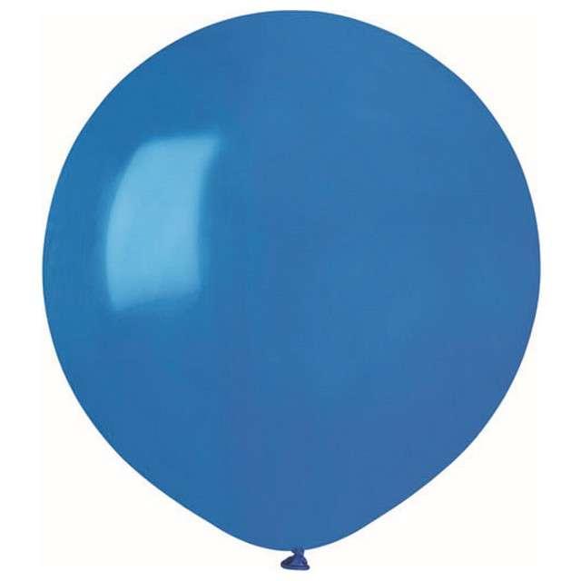 """Balony """"Pastelowe"""", niebieskie, Gemar, 19"""", 50 szt"""