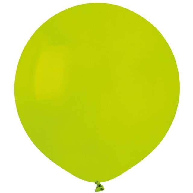 """Balony """"Pastelowe"""", zielone jabłuszko , Gemar, 19"""", 50 szt"""