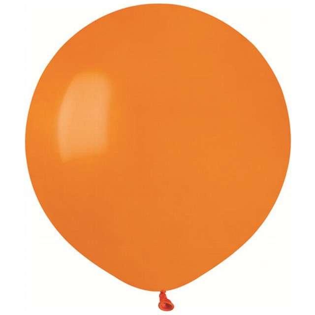 """Balony """"Pastelowe"""", pomarańczowe, Gemar, 19"""", 50 szt"""