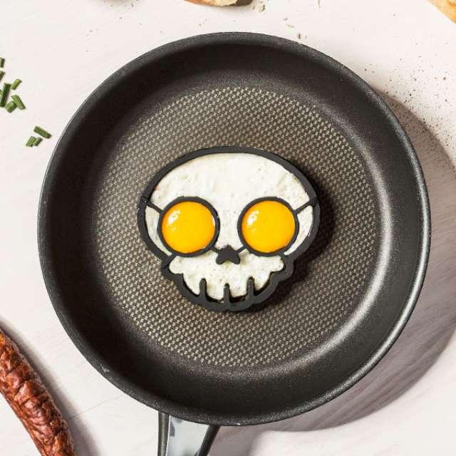 """Foremka silikonowa do jajek """"Czaszka"""", GadgetMaster"""