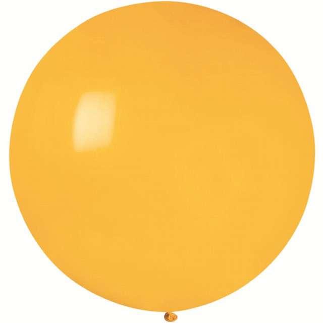 Balon Olbrzym żółty ciemny pastel Gemar 75cm