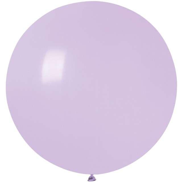 """Balon """"Olbrzym"""", liliowy pastel, Gemar, 75 cm"""