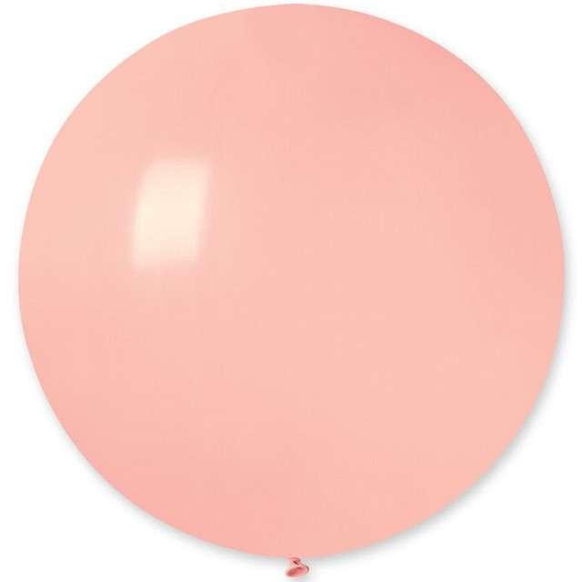 Balon Olbrzym różowy jasny pastel Gemar 75cm