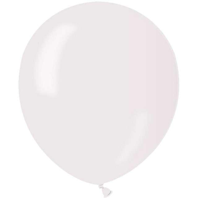 """Balony """"Classic"""", perłowo-biały metalik, GEMAR, 5"""", 100 szt"""