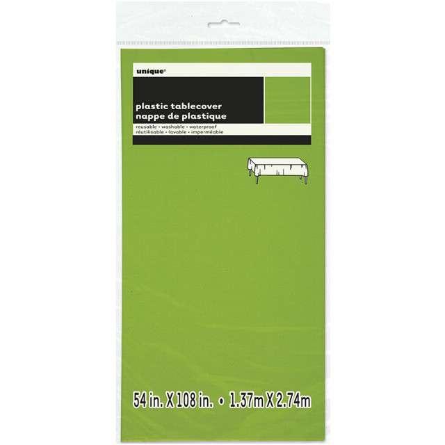_xx_Obrus, neonowy zielony, rozm. 137 x 275 cm
