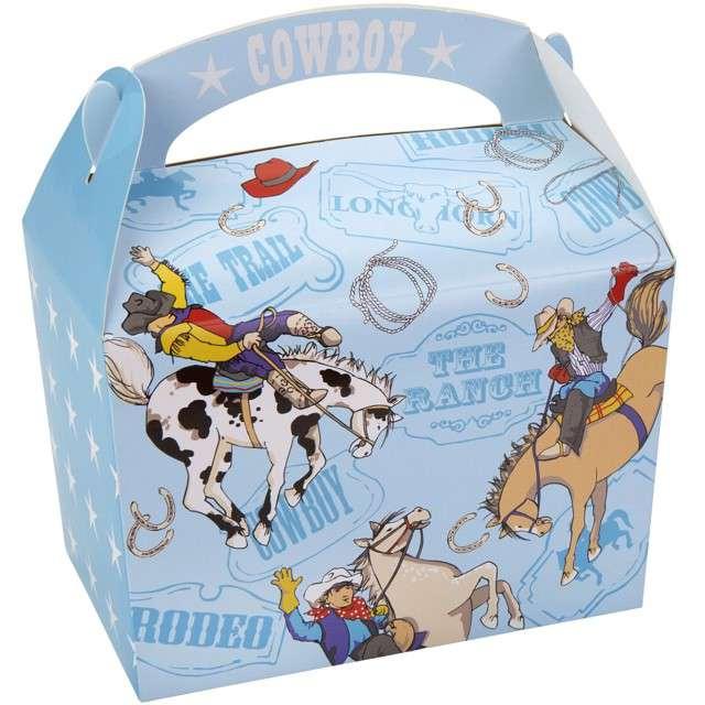 _xx_Pudełko śniadaniowe WILD WEST COWBOYS, 8 szt. KK