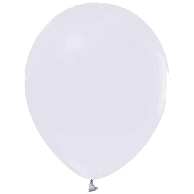 """Balony """"Helium Formula"""", białe pastel, Godan, 10"""", 100 szt"""