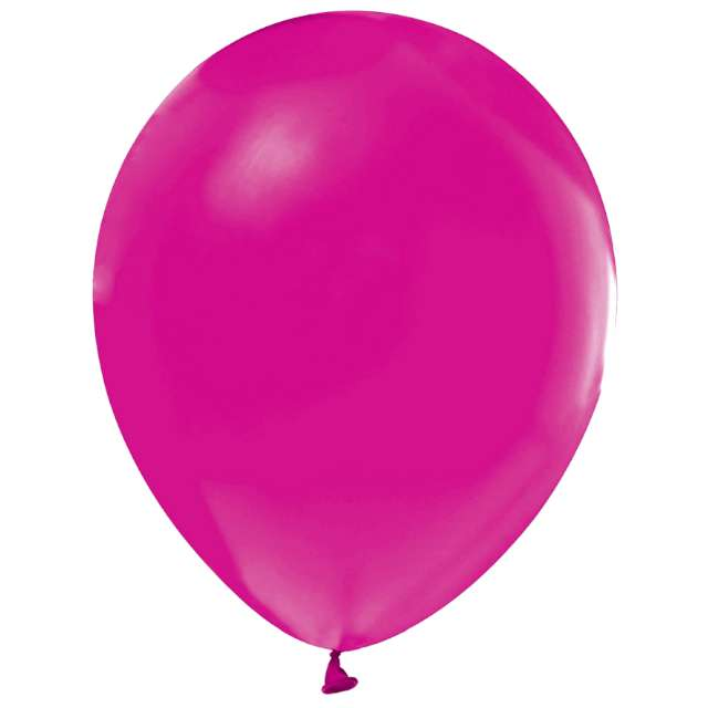"Balony ""Helium Formula"", różowe ciemne pastel, Godan, 10"", 100 szt"