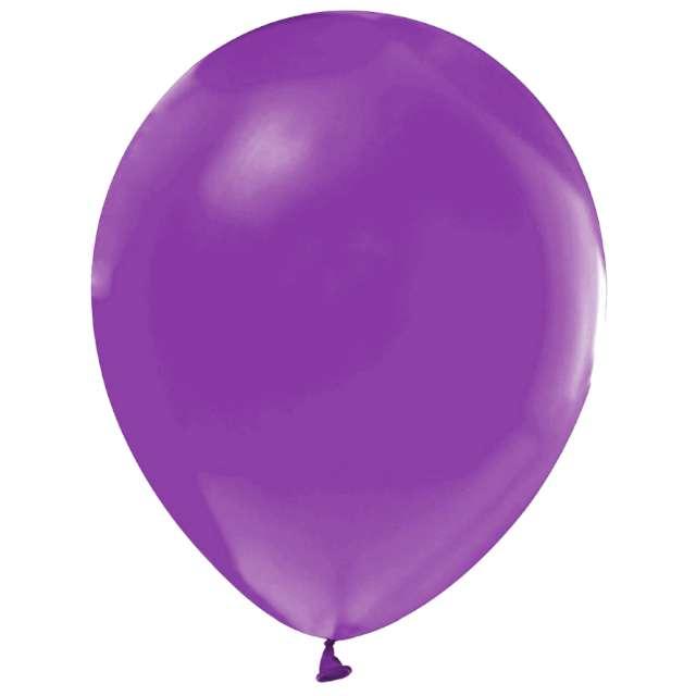 "Balony ""Helium Formula"", fioletowe jasne pastel, Godan, 10"", 100 szt"