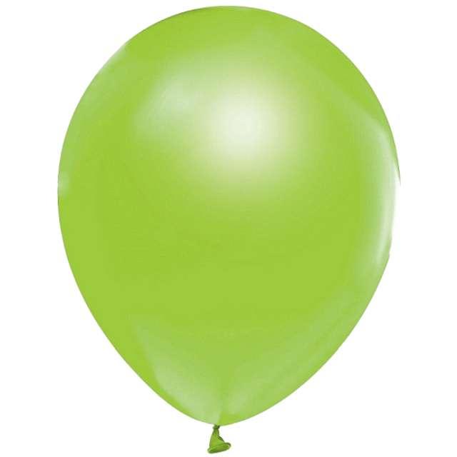 """Balony """"Helium Formula"""", zielone jasne pastel, Godan, 10"""", 100 szt"""