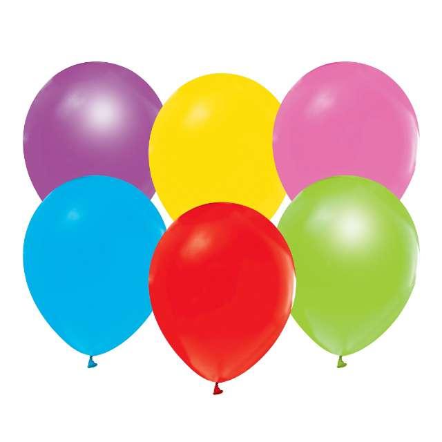 """Balony """"Helium Formula"""", mix pastel, Godan, 10"""", 100 szt"""