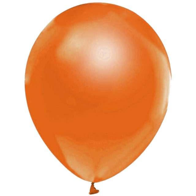 "Balony ""Helium Formula"", pomarańczowe pastel, Godan, 10"", 100 szt"