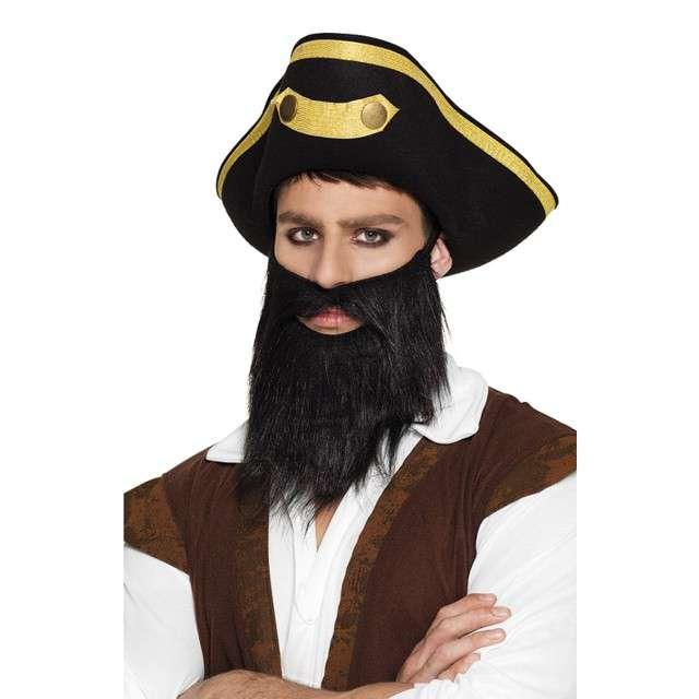 """Broda party """"Pirat"""", czarna, BOLAND"""