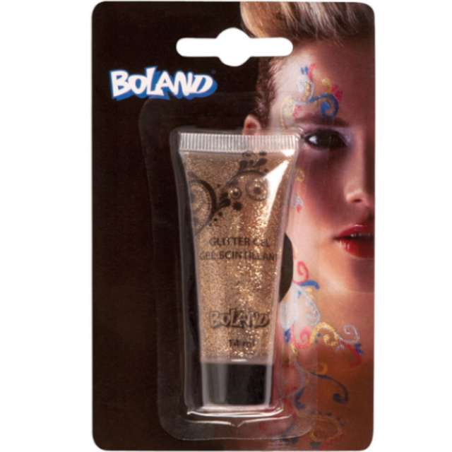 _xx_Brokat w tubce, 14 ml, złoty