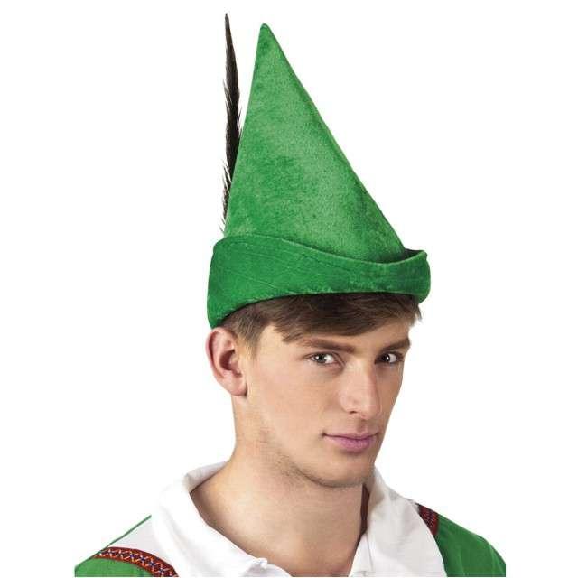 "Czapka ""Robin Hood"", zielona, BOLAND"