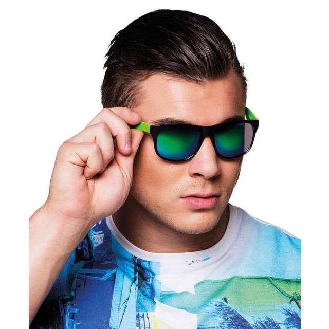 "Okulary ""Plaża - lustrzane"", BOLAND"