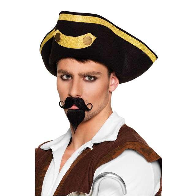 """Zestaw """"Wąsy i broda Pirata Kapitana"""", Boland"""