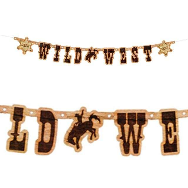 "Baner ""Wild West Sheriff - Dziki Zachód"", Boland, 110 cm"