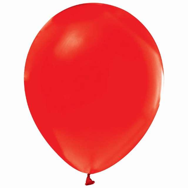 """Balony """"Helium Formula"""", czerwone pastel, Godan, 10"""", 100 szt"""