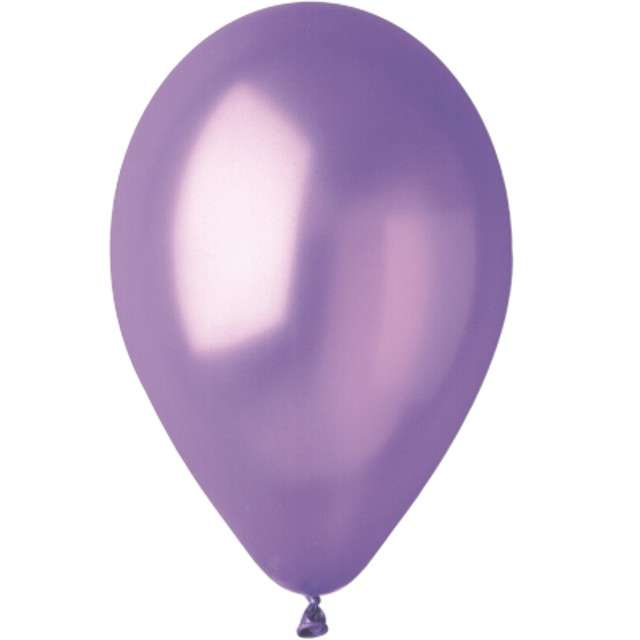 """Balony """"Metallic"""", lawendowe, Gemar, 12"""", 100 szt"""