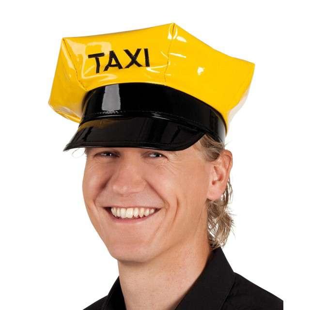 """Czapka """"Taksówkarz"""", żółto-czzarna, BOLAND"""