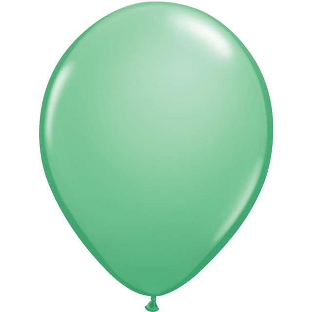"""Balony """"Chromowane"""", zielony zimny, QUALATEX, 16"""", 50 szt"""