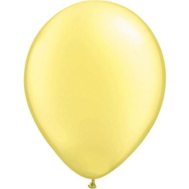 """Balony """"Classic"""", żółty metalik, QUALATEX, 5"""", 100 szt"""